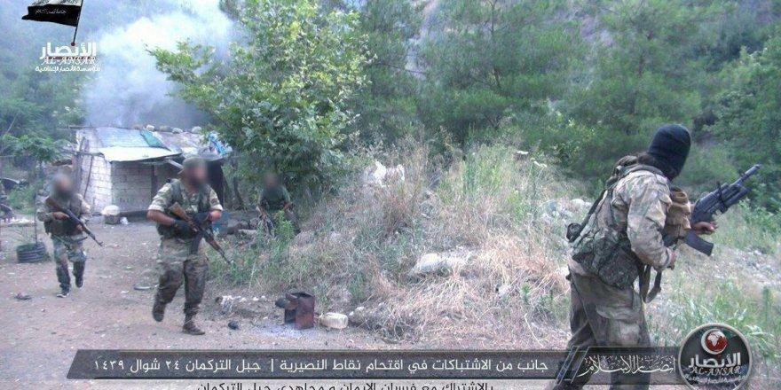 Muhaliflerden Türkmen Dağı'nda Esed Güçlerine Operasyon