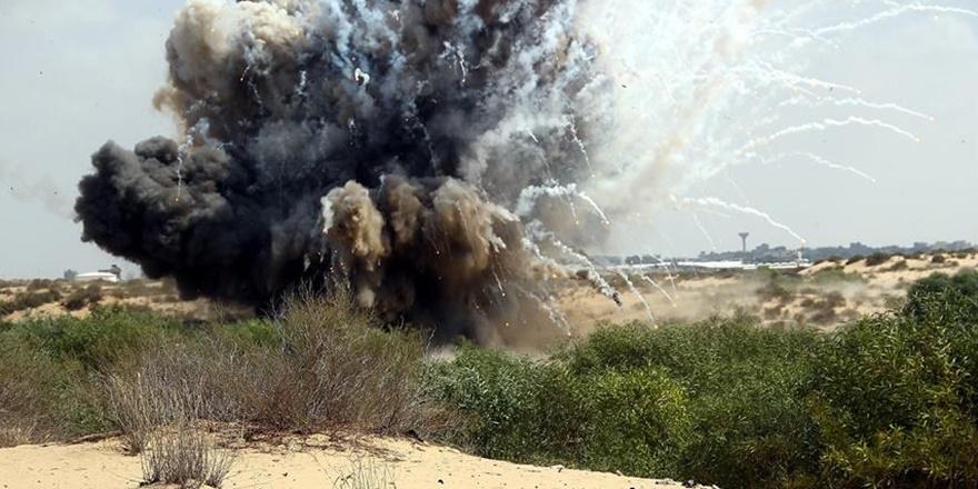 İşgalci İsrail'den Gazze Sınırına Roket Saldırısı!