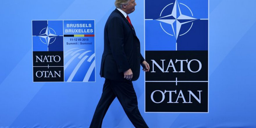 """Trump'tan """"NATO'dan Çekilebiliriz"""" Tehdidi"""