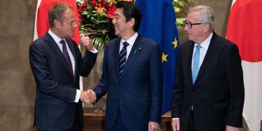 AB ve Japonya Arasındaki Ticari Sınırlar Kalktı