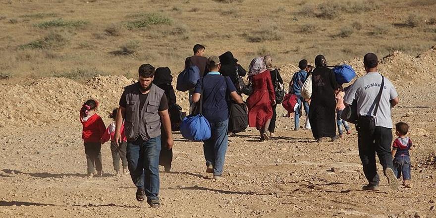 Esed'in Saldırılarından Kaçan Suriyeliler İsrail Sınırına Dayandı!