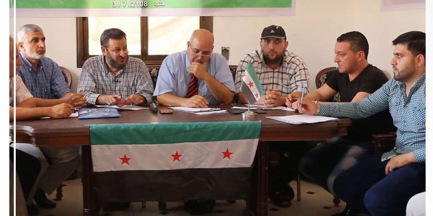 Suriye'de Muhaliflerin Bölgesinde Meslek Örgütleri Birlik Oluşturdu!