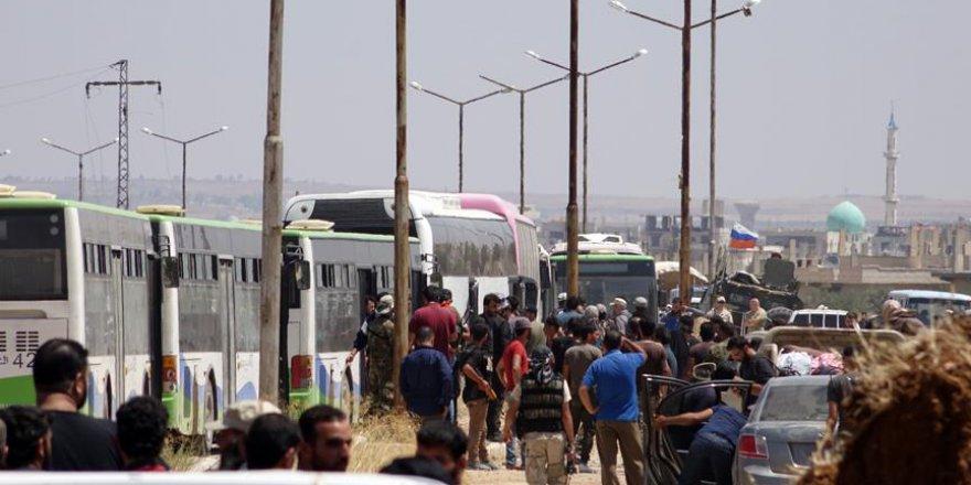 Dera'dan Ayrılan İkinci Konvoy İdlib'e Vardı