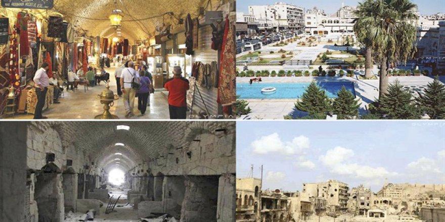 Hayalet Kente Dönüştürülen Halep Yağmalanıyor