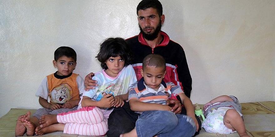 Afrinli Ahmet Bilal, Eşi ve Bebeği İçin Protez Bekliyor