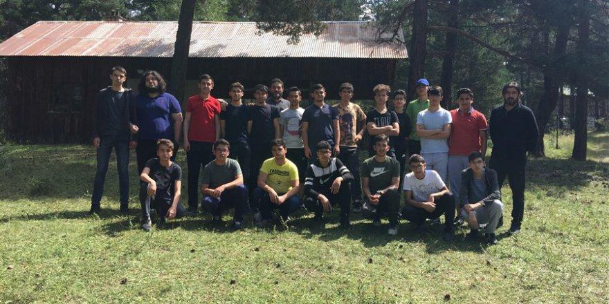 Çorum Özgür-Der Lise Gençliği, Çukurhan Yaylası'nda Kampta Buluştu