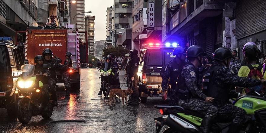 Maduro'ya Yönelik Düzenlenen Saldırıya İlişkin 6 Gözaltı