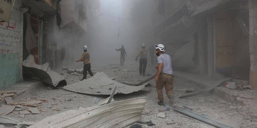 Esed Rejimi Temmuzda 528 Kez Varil Bombası Kullandı!