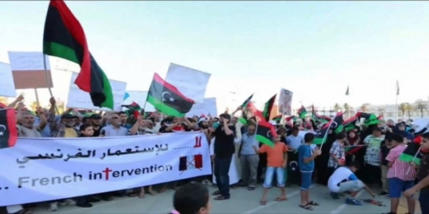Libya'da İtalya Protestosu