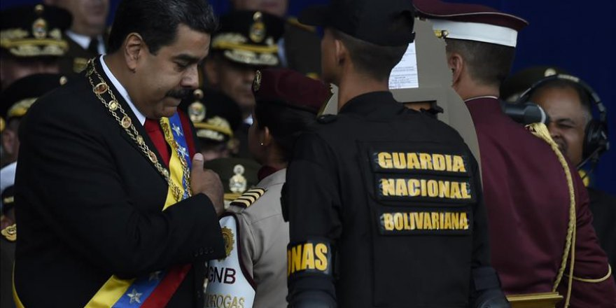 Maduro'ya Yönelik Suikast Girişiminde Tutuklama Kararı