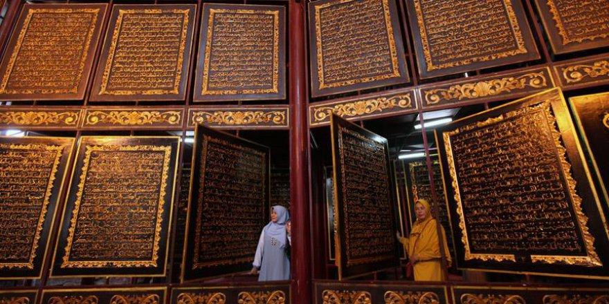 Ahşaba İşlenen Kur'an-ı Kerim Büyük İlgi Görüyor