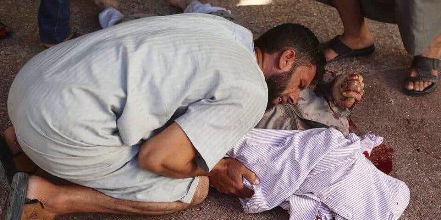İdlib'deki Patlamanın En Acı Karesi