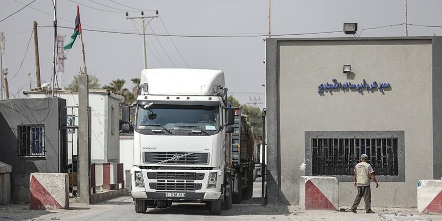 Gazze'nin Tek Ticari Sınır Kapısı Kısıtlı Şekilde Açıldı!