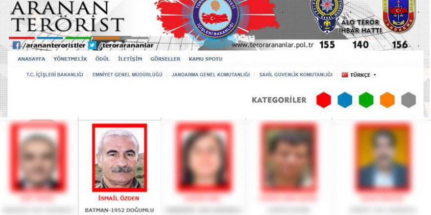 PKK'nın Sincar Komutanı İsmail Özden Öldürüldü