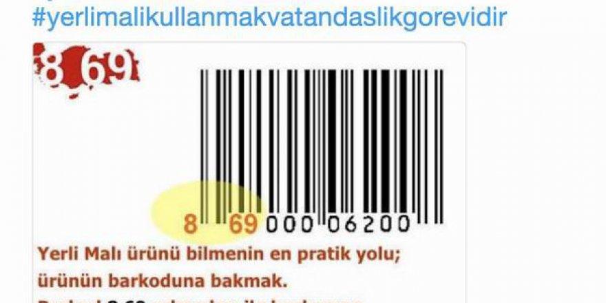 Barkod Numarası 869 İle Başlayan Ürünlerin Türk Malı mı?