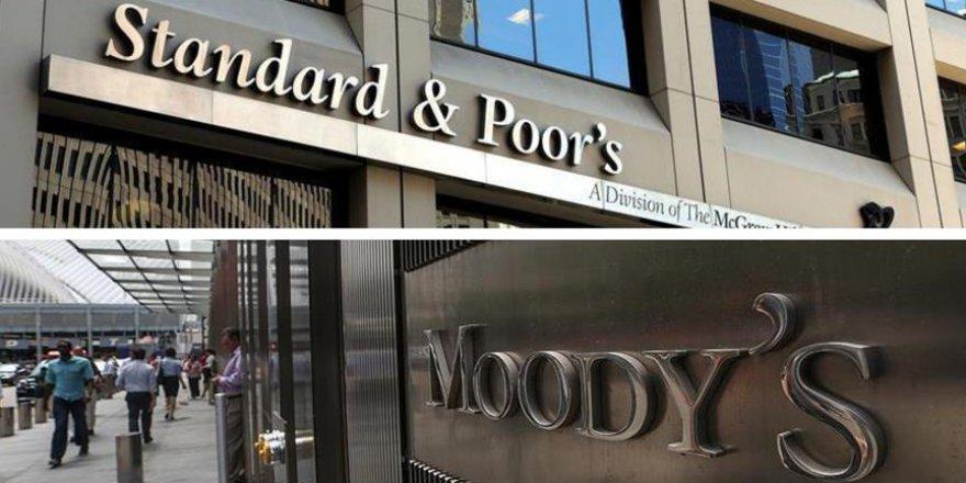 Moody's ve SP Türkiye'nin Kredi Notunu Düşürdü
