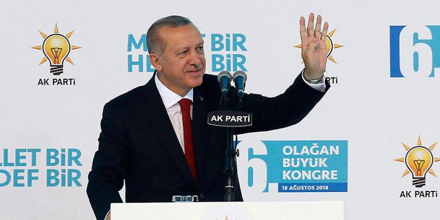 Erdoğan Yeniden AK Parti Genel Başkanı Oldu