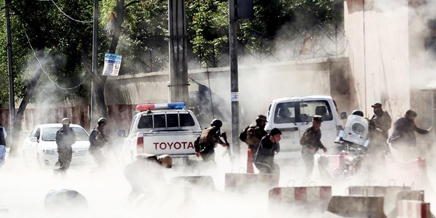 Afganistan'ın Kâbil Kentinde Başkanlık Sarayı'na Füze Saldırısı
