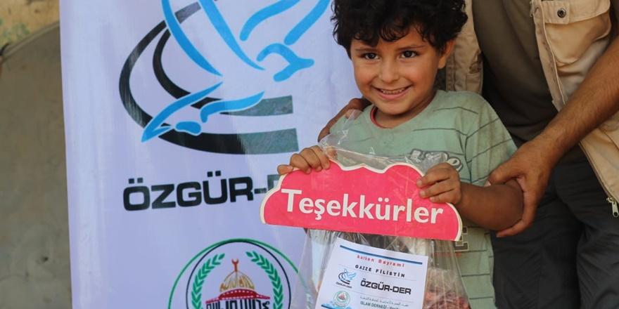 Özgür-Der Bu Yıl da Gazze Halkına Kurban Eti Ulaştırdı