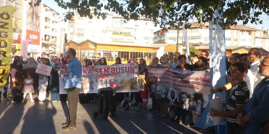 ABD Dayatmalarına Sivas'ta Protesto