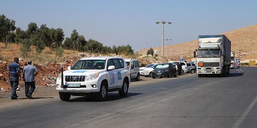BM'den İdlib'e 11 Tır İnsani Yardım