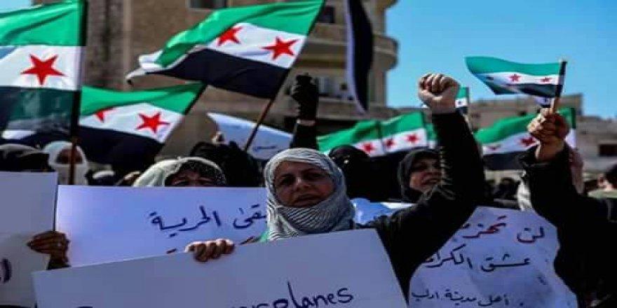Alanları Dolduran İdlibliler Esed-İran-Rusya Şer Cephesine Meydan Okudu!