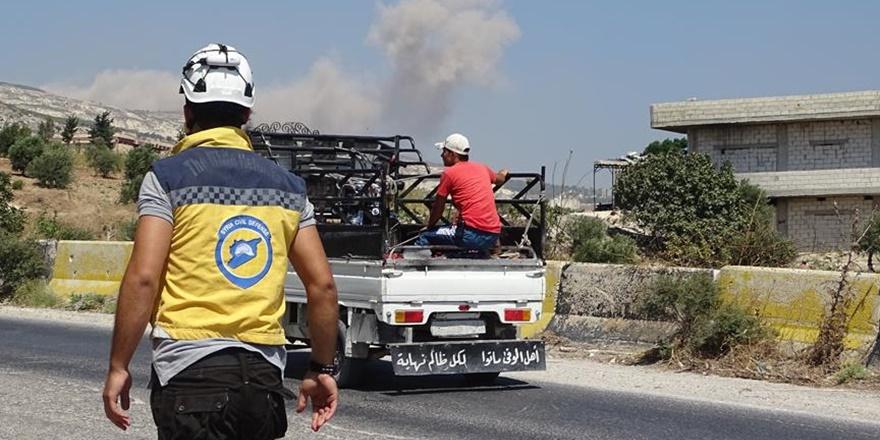 İdlib ve Hama'ya Yönelik Hava Saldırıları Sürüyor!