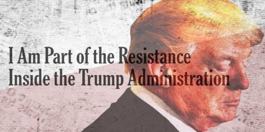 New York Times'taki İsimsiz Yazı Trump'ı Gerdi