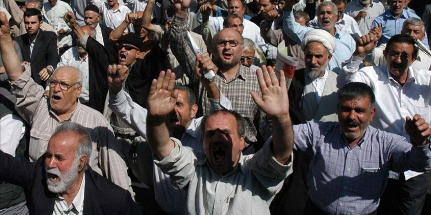 İran'da Emeklilerden Maaş Protestosu