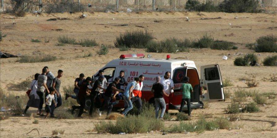 İşgal Güçleri Gazze'de 2 Filistinliyi Şehit Etti