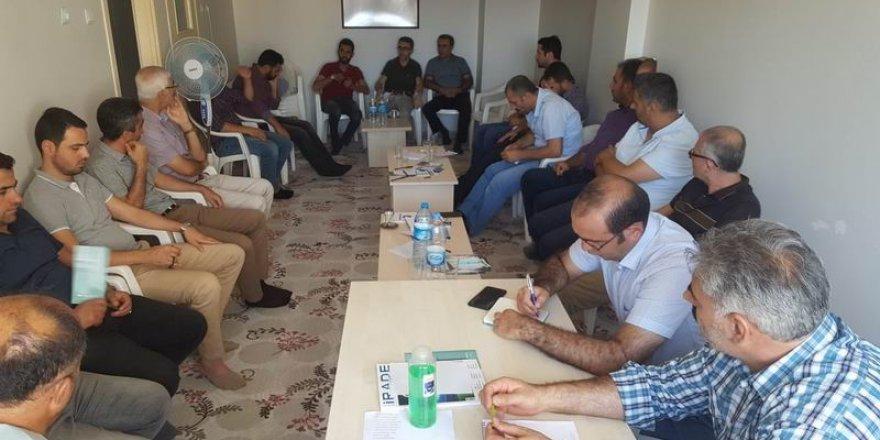 Özgür-Der Bölge İstişare Toplantısı Elazığ'da Yapıldı