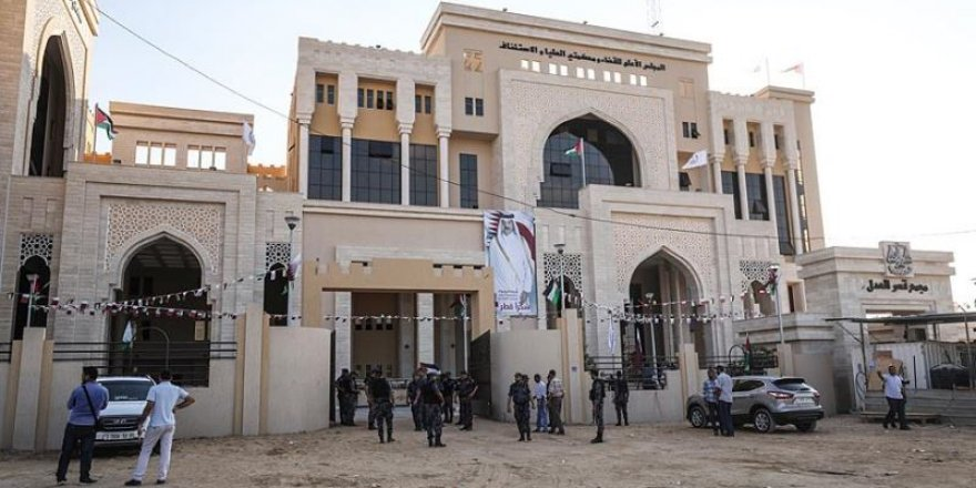Gazze'de Katar'ın Desteğiyle Adalet Sarayı Açıldı