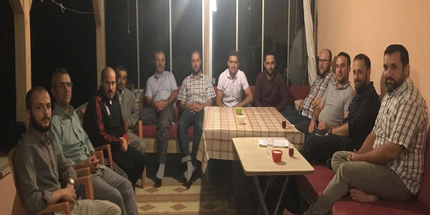 """Amasya Özgür-Der'de """"Cedel"""" Kavramı Konuşuldu"""