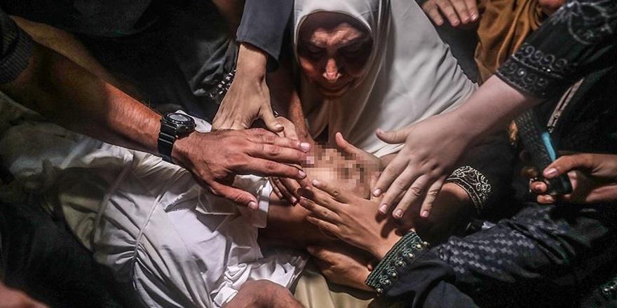 İşgalcilerin Katlettiği Gazzeliler Son Yolculuklarına Uğurlandı!