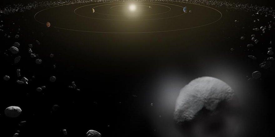 Cüce Gezegende Eski Buz Volkanları Keşfedildi