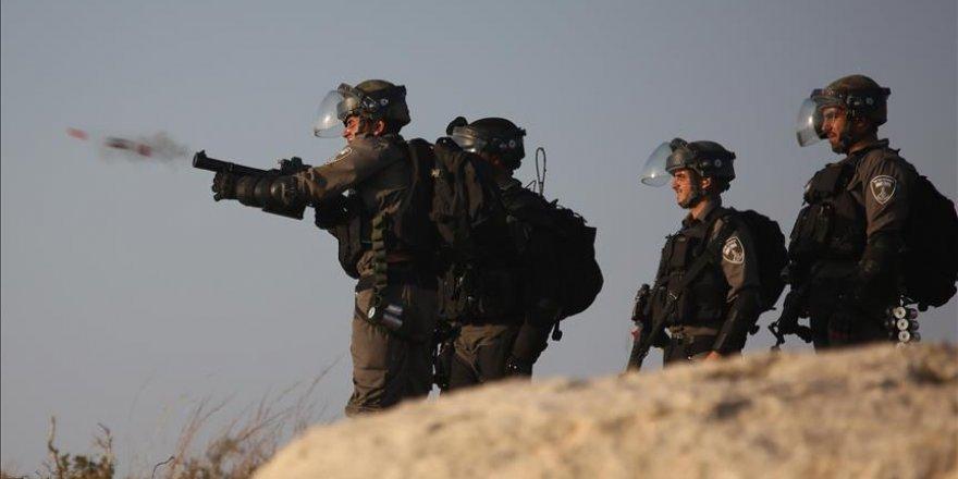 İşgal Güçleri Batı Şeria'daki Gösterilere Müdahale Etti