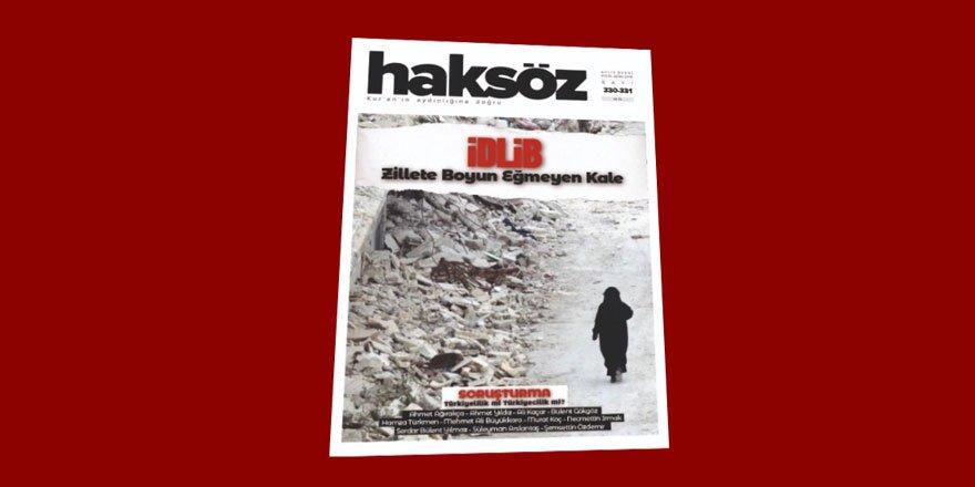 Haksöz Dergisinin Eylül-Ekim (2018) Sayısı Çıktı