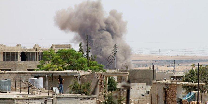 Katil Esed ve İran'a Bağlı Çeteler İdlib'e Saldırdı!