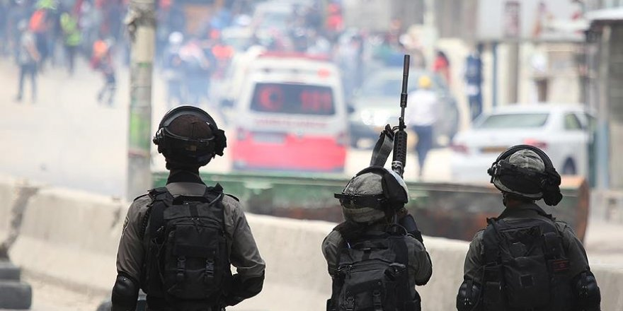 İşgal Güçleri Batı Şeria'da Onlarca Filistinliyi Yaraladı