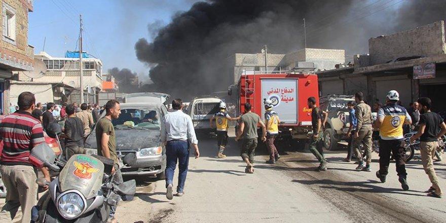 Azez'de Patlama: 3 ölü