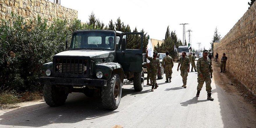İdlib'de Ağır Silahların Cephe Hattından Çekilmesi Tamamlandı
