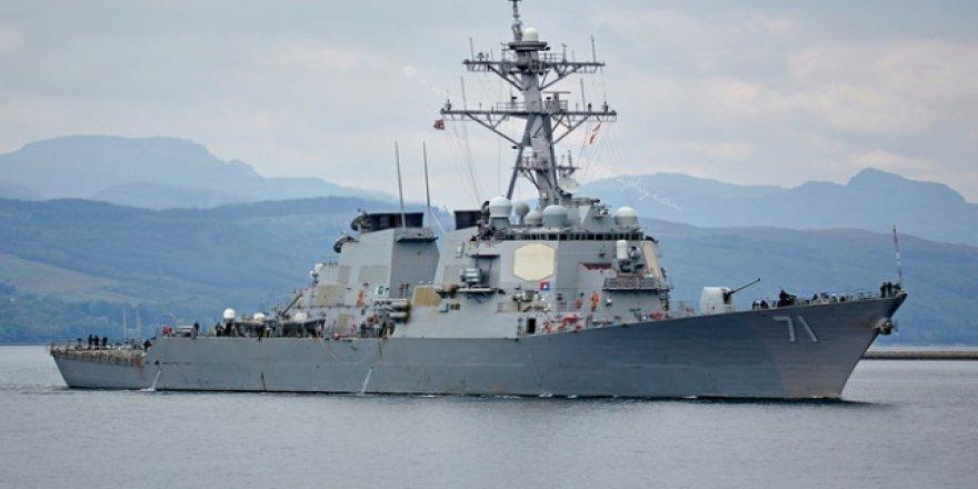 ABD Destroyeri Aşdod Limanı'nda