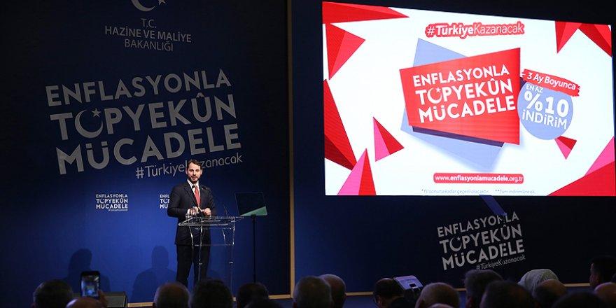 Enflasyonla Topyekun Mücadele Programı Açıklandı