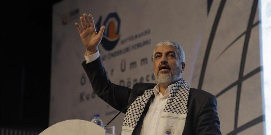 """Meşal: """"Bölgedeki Sorunlar Filistin'i Gündem Dışı Bıraktı"""""""