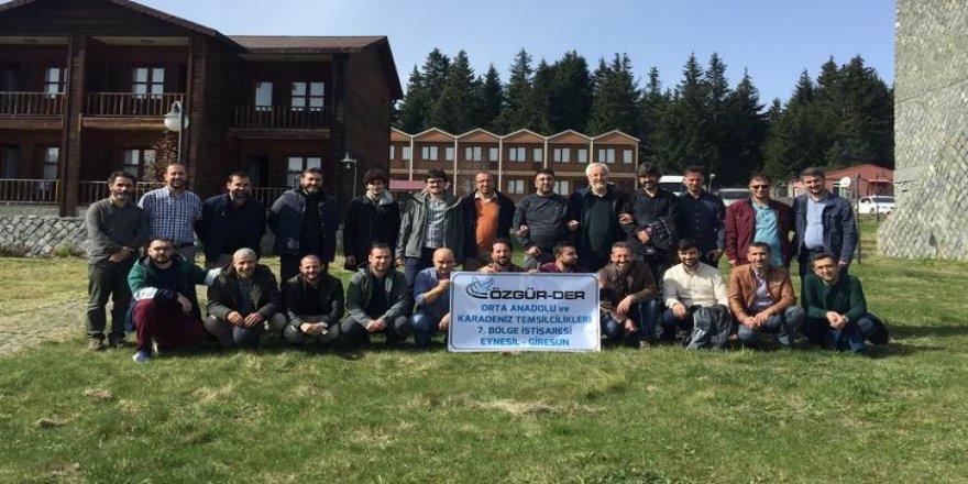 Özgür-Der Bölge İstişaresi Trabzon'da Yapıldı