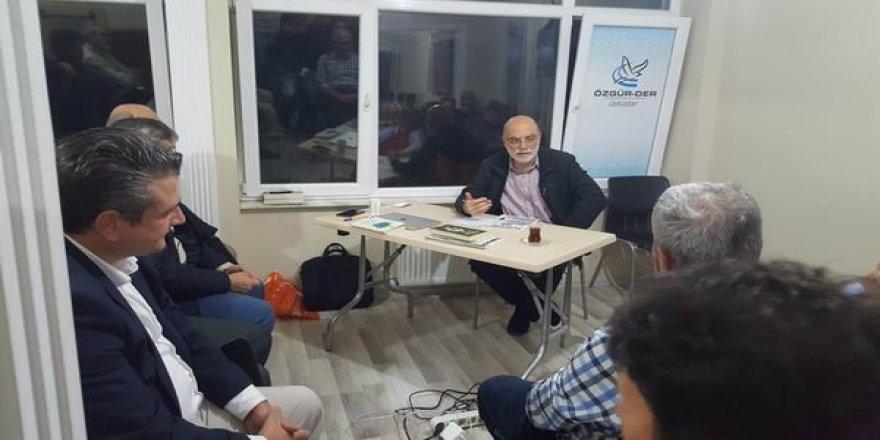 Üsküdar Özgür-Der 'de 'Türkiyecilik mi Türkiyelilik mi? Konuşuldu