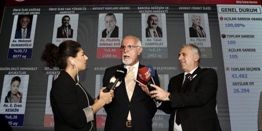 Mehmet Durakoğlu Tekrar İstanbul Barosu Başkanı Seçildi