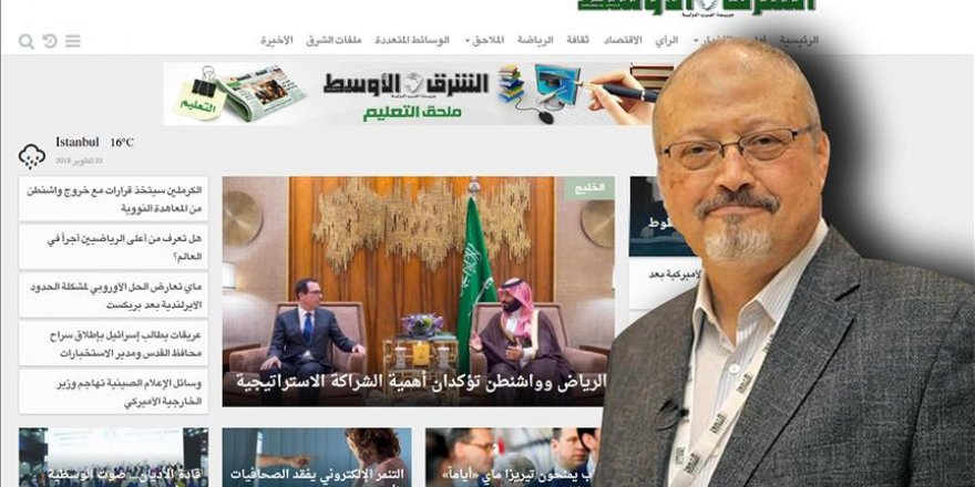 Eş-Şark el-Avsat Gazetesinde Kaşıkçı İstifası