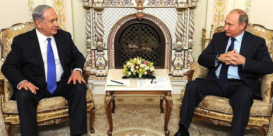 Paris'teki Netanyahu - Putin Görüşmesi İptal Edildi