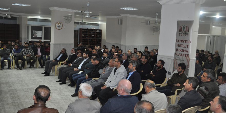 Diyarbakır Özgür-Der Komisyonlarından Ortak Program